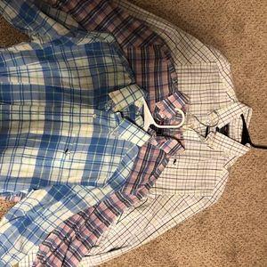Lot of 3 Mens Vineyard Vines L/S Button Down Shirt